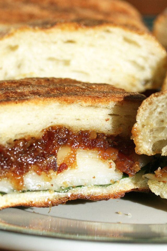 Bacon Jam and Cheese Panini | Food and Libations | Pinterest