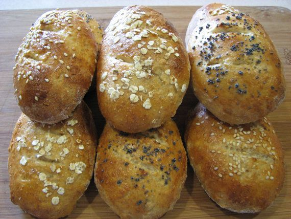 Multigrain Rolls by TheCountryBakers on Etsy, $9.00