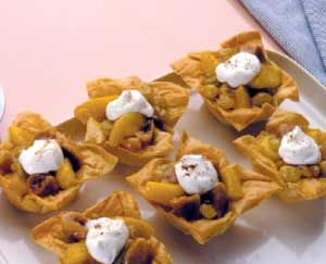 Fig and Peach Tarts | Recipe