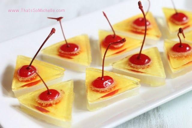 ️Piña Colada Jello Shots ️ | Happy Hour | Pinterest: pinterest.com/pin/154600199682692629