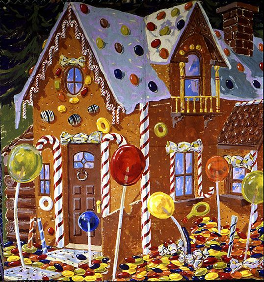 Candy house inspiration hansel and gretel pinterest for Gingerbread house inspiration