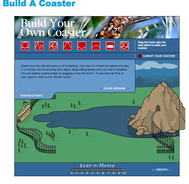 build your own roller coaster