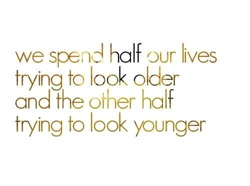 .oh to be young again!