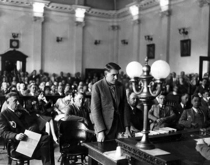 el juicio de Gordon Steward, el asesino del gallinero.