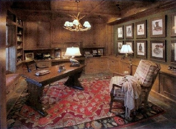 explore cozy home office