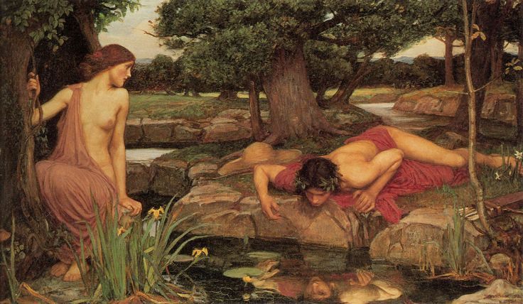 Eco y Narciso - Waterhouse