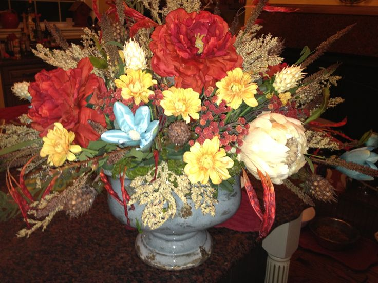 Kitchen table centerpiece  For The Home  Pinterest