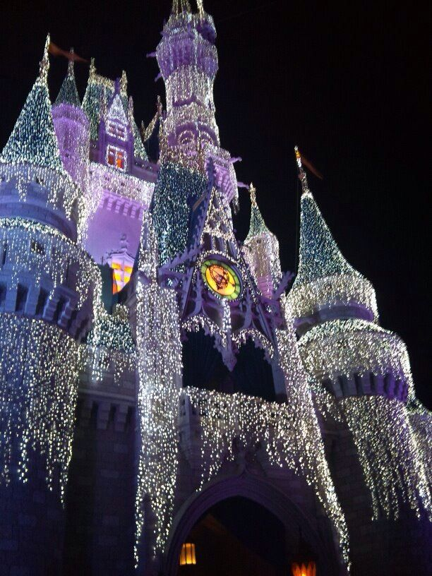 The castle at nightfall. Discovered by Amber Palmer at Cinderella ...