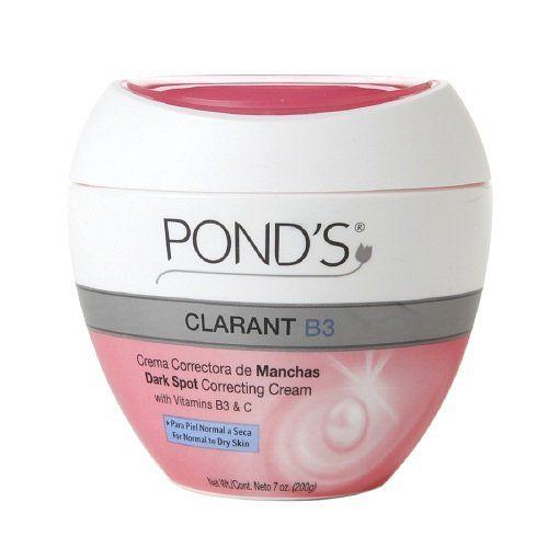 Amazon.com: POND'S Clarant B3 Dark Spot Correcting Cream, Normal to