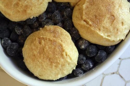 Blueberry-Oat Biscuit Cobbler Recipe — Dishmaps