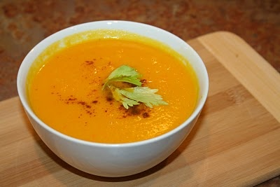 Carrot and Orange Soup | Healthy Recipes | Pinterest