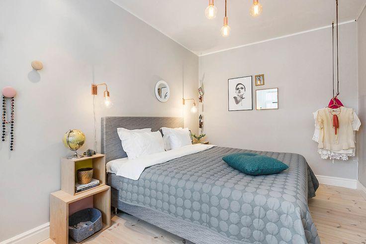bedroom with light grey walls house hunter pinterest