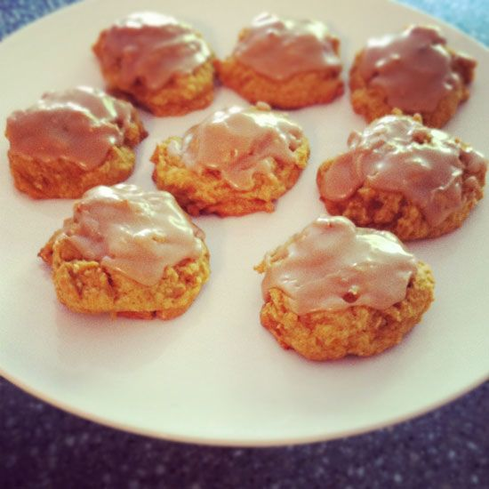 ... The BEST Pumpkin Cookies with Penuche Frosting! Seriously AMAZING