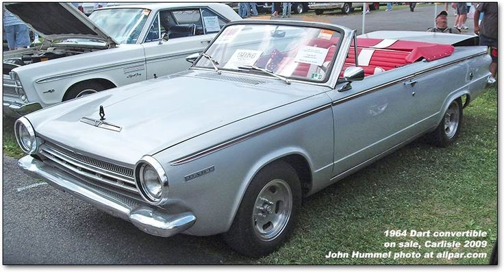 1964 Dodge Dart convertible   Dodge Dart   Pinterest