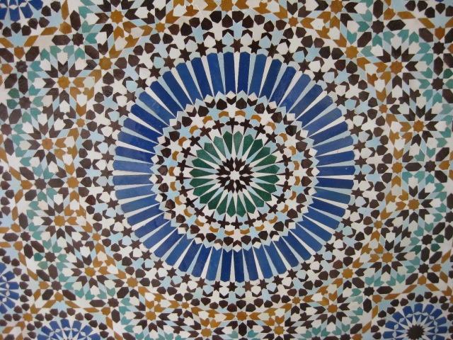 Mosque mosaic paris france pinterest for Pinterest fr