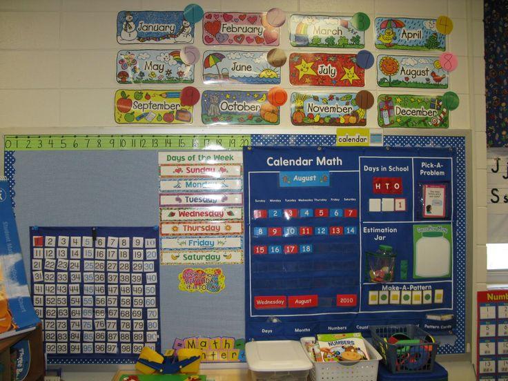 Calendar Pocket Chart Kindergarten : I want this pocket chart classroom organization