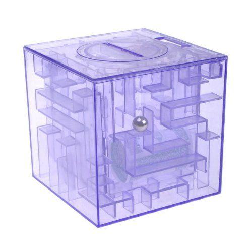 Money maze bank saving coin kid toys kids toys pinterest for Maze coin bank