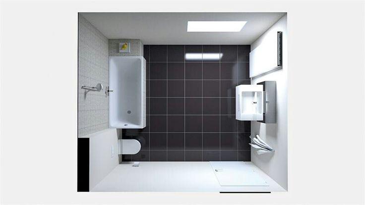 Kleine Open Badkamer ~ Kleine badkamer  Badkamer  Pinterest