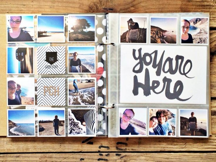 PCH - You Are Here by rukristin at @Studio_Calico Love all the small square photos