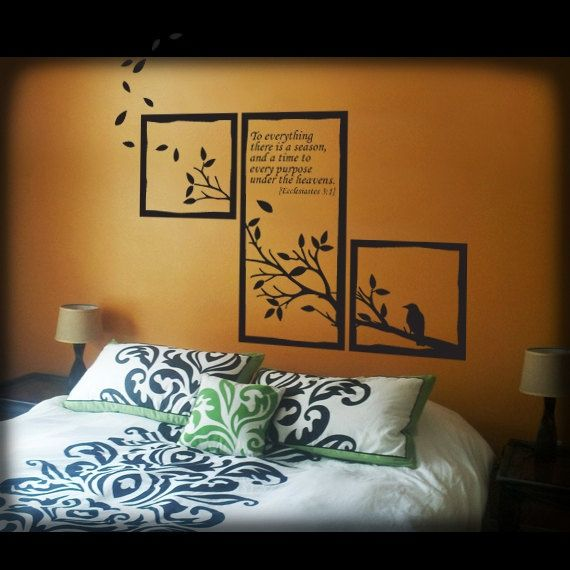 Bible quote wall decor ideas and tips for home pinterest for Biblical wall decals ideas