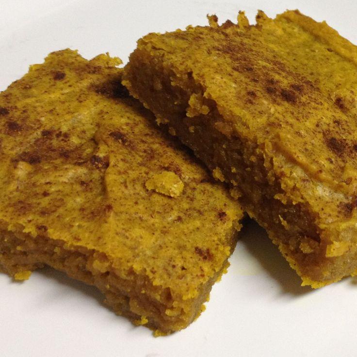 Pumpkin Blondies Recipe — Dishmaps