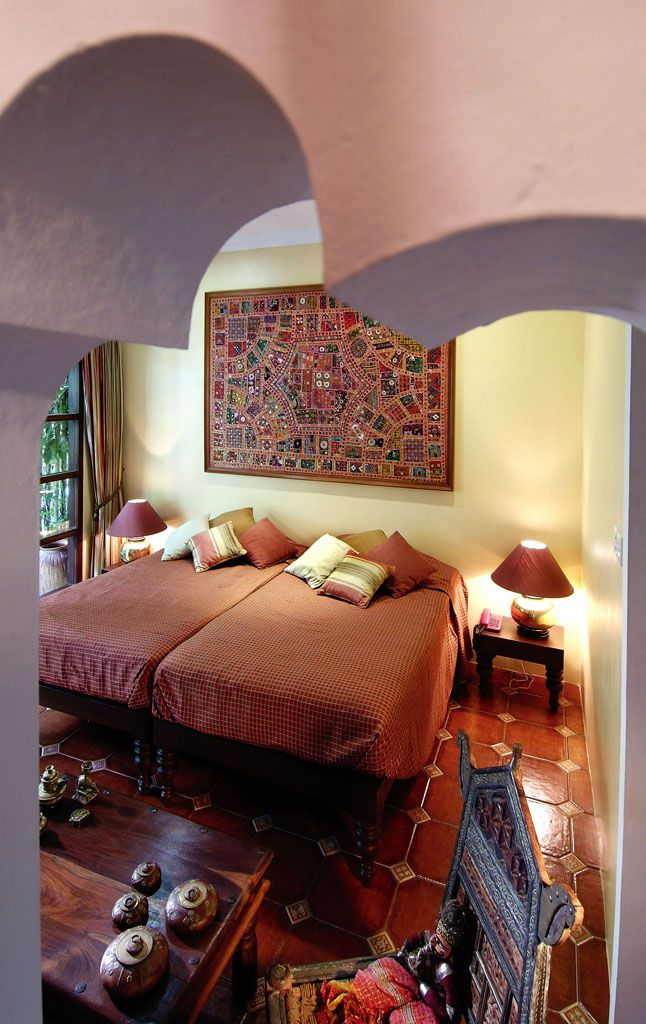 indian themed bedroom