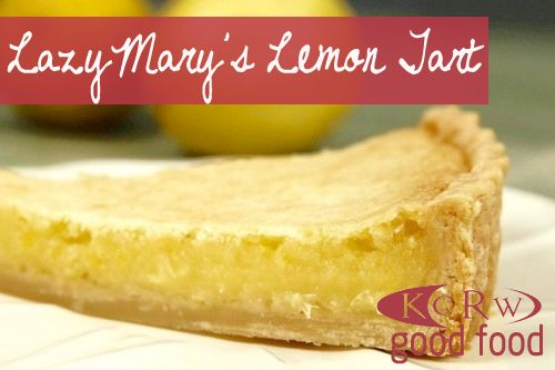 Lazy Mary's Lemon Tart.... (Makes 1 tart) Ingredients: 1 large meyer ...
