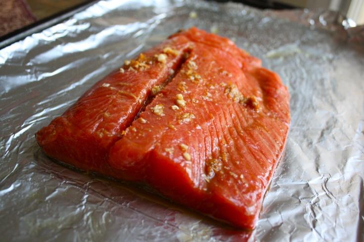 Ginger Orange Roasted Salmon | Yummy Recipes | Pinterest