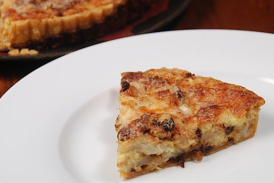 Cauliflower and Caramelized Onion Tart | Food and ..... | Pinterest