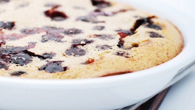 Cherry Clafoutis with Almond Milk | The Sweet Stuff: Baking | Pintere ...