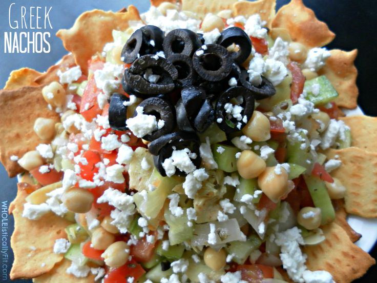 ... Greek Nachos 2 1024x768 Taking Your Nachos from ¡Olé! To Opa!: Greek