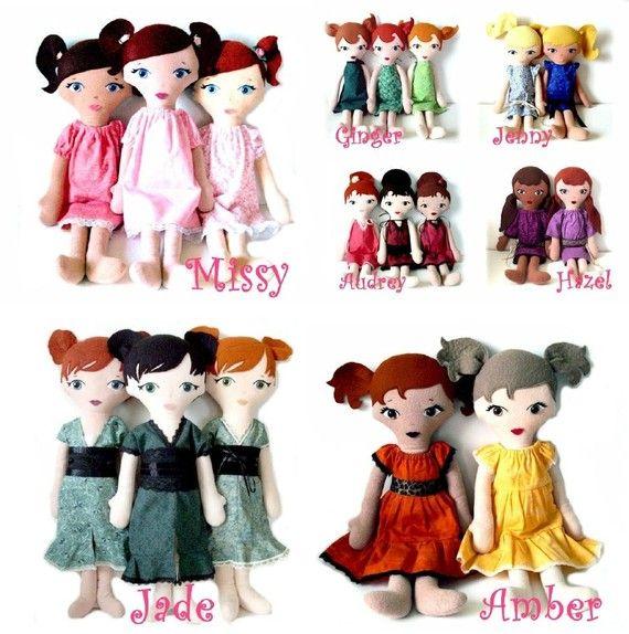Lil Мисс Куклы Ткань моды
