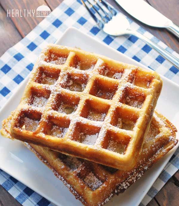 Whole Wheat Waffles Tried them, they were thin, but light and I ...