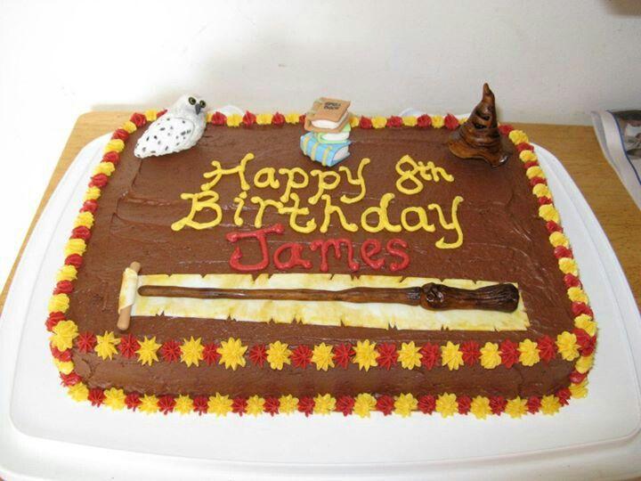 Harry Potter Cake Kids  Birthday Cake idea Pinterest