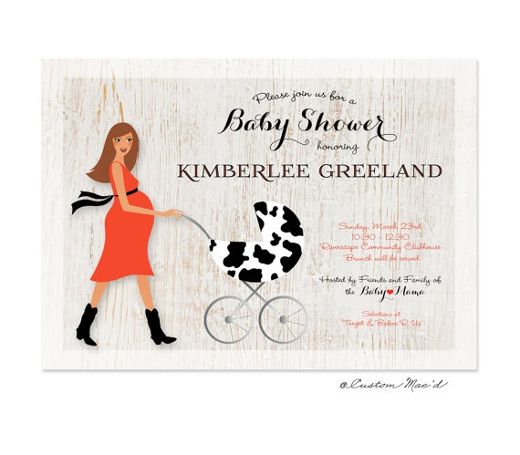 Country Baby Shower Invitations is an amazing ideas you had to choose for invitation design
