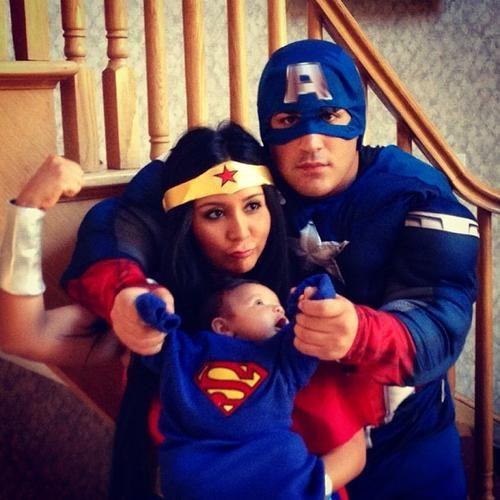 "Snooki & Her ""Superhero Swag"""