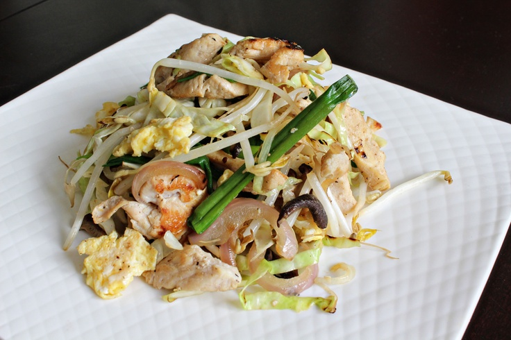 how to eat moo shu chicken