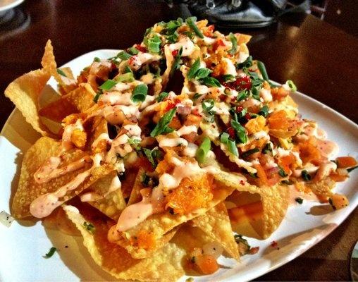 food calories grand asian nachos