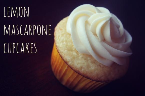 Lemon Mascarpone Cupcakes | Food_DESSERT | Pinterest