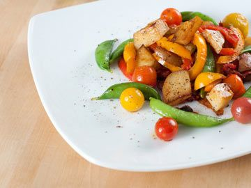 Spring Vegetable Saute   Diet.com Recipes   Pinterest