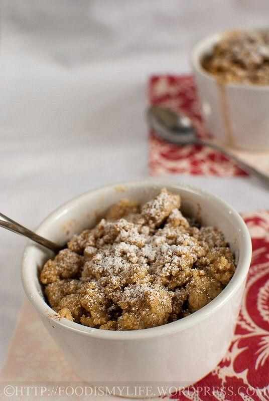 Apple Cinnamon Baked Oatmeal   Recipes I'd like to try   Pinterest