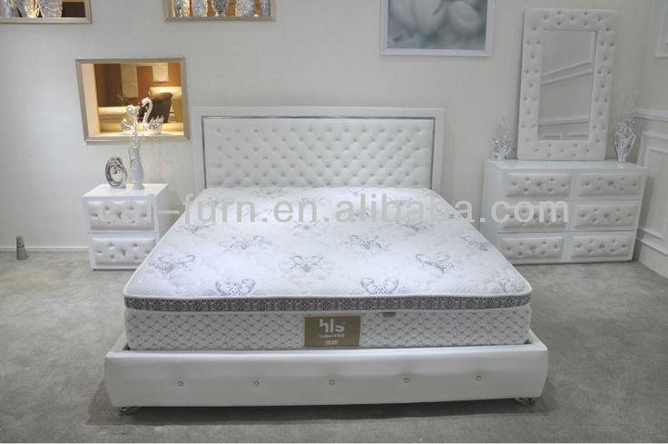 C19001 white leather diamond bed $1000~$3000 736 x 489