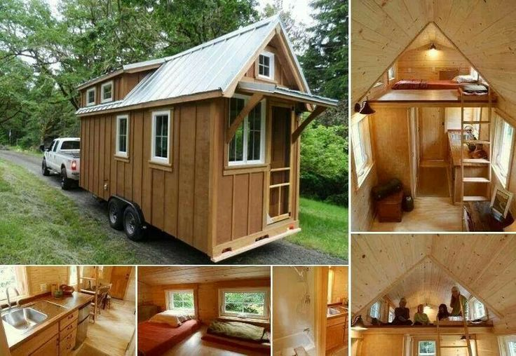 Tiny Home On Wheels Modern Amish Pinterest