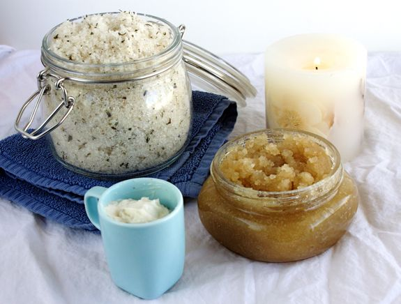 Homemade Vanilla Citrus Sugar Body Scrub