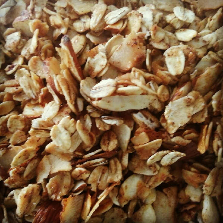 Coconut Almond Granola - My Add: pumpkin seeds and dried cranberries ...