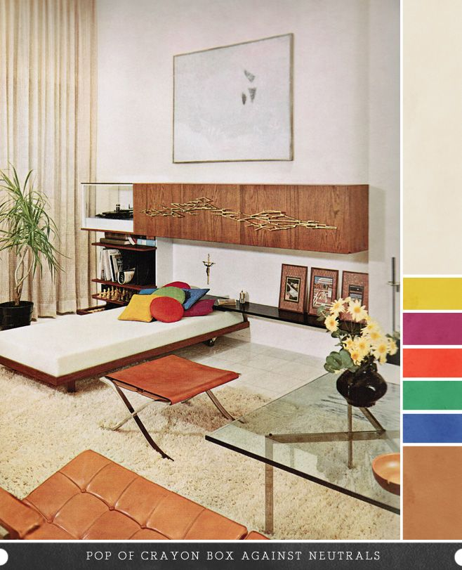 1950s living room design inspiration pinterest for 1950s living room ideas
