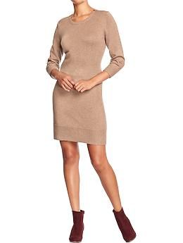 Old Navy Women's Shoulder-Zip Sweater Dress