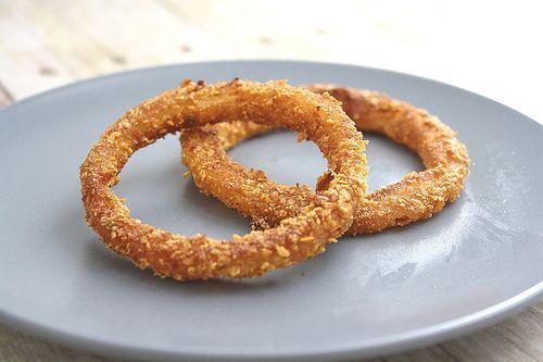 Low Calorie Onion rings 116 calories per serving