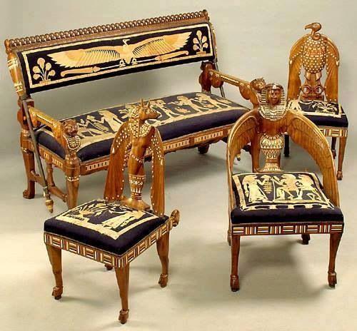 Egyptian Furniture Style Egypt Misr Egyptian