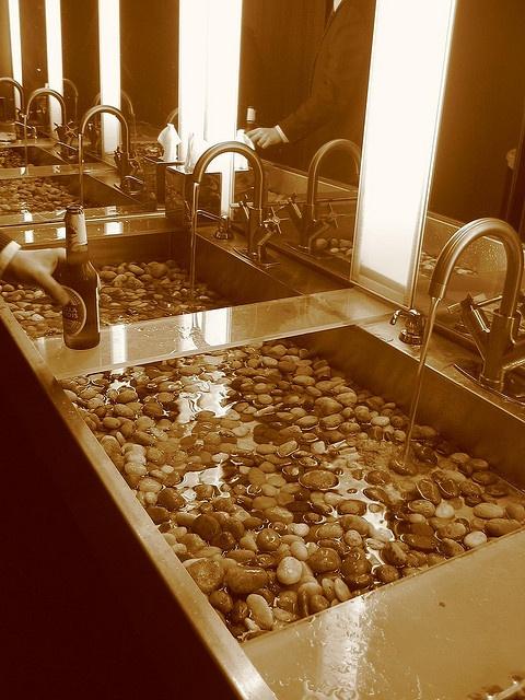 Sink Rocks : Rock sink Sinks Faucets & Cabinets Pinterest